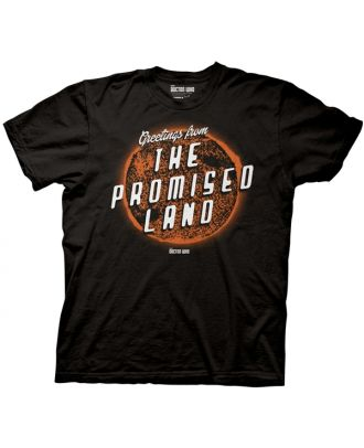Doctor Who Greetings From The Promised Land Adult T-Shirt