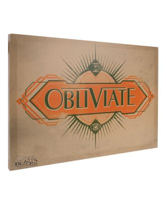 Fantastic Beasts and Where to Find Them Obliviate 13x18 Canvas Banner