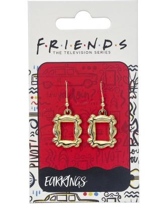 Friends Frame Drop Earrings