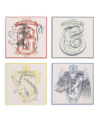Harry Potter House Coasters - Set Of 4