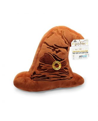 Harry Potter 3D Talking Sorting Hat Throw Pillow