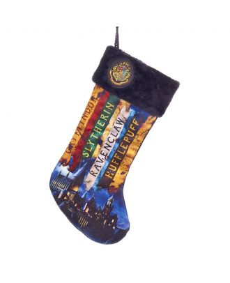 Harry Potter Hogwarts Houses 19 Inch Christmas Stocking