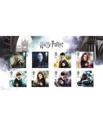 Harry Potter Royal Mail Stamps Complete Character Collection Pack