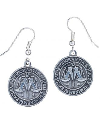 Harry Potter Ministry of Magic Symbol Earrings