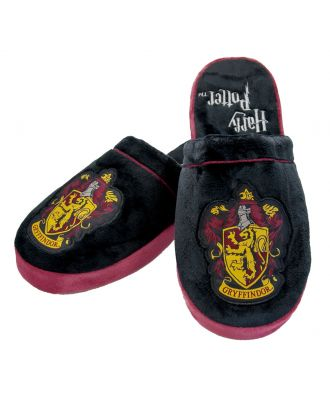 Harry Potter Gryffindor Adult Mule Slippers US 6-8