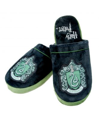 Harry Potter Slytherin Adult Mule Slippers US 9-11