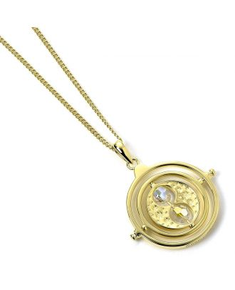 Harry Potter Gold Plated Swarovski® Crystals Time Turner Necklace