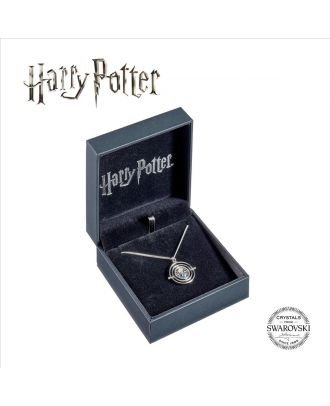 Harry Potter Embellished with Swarovski® Crystals Time Turner Necklace