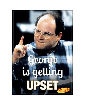 Seinfeld George Is Getting Upset Photo Magnet