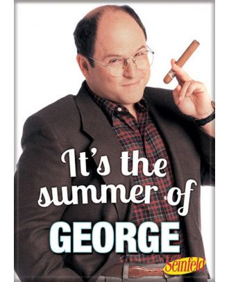 Seinfeld Summer of George Photo Magnet