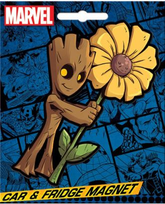 Marvel Guardians Of The Galaxy Groot Car Magnet