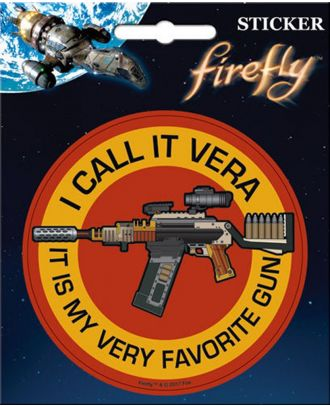 Firefly I Call It Vera Sticker