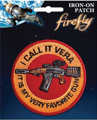 Firefly I Call It Vera Iron On Patch