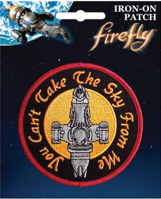 Firefly Serenity Iron On Patch
