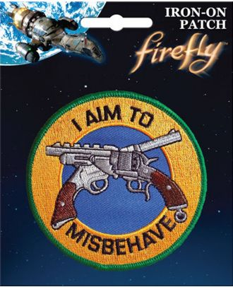 Firefly Aim To Misbehave Iron On Patch