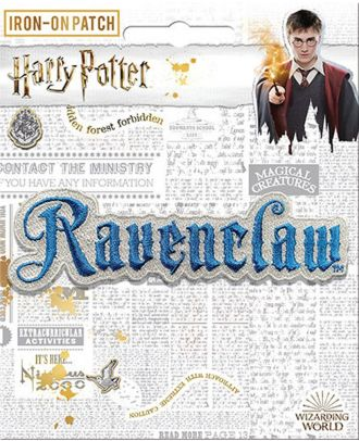 Harry Potter Ravenclaw Name Iron On Patch