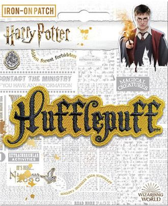 Harry Potter Hufflepuff Name Iron On Patch