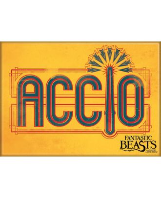 Fantastic Beasts Accio 2 1/2 in. x 3 1/2 in Magnet