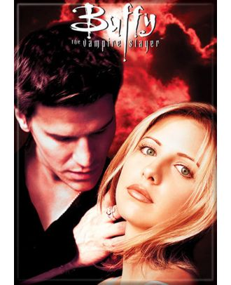 Buffy The Vampire Slayer Buffy and Angel Photo Magnet