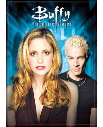 Buffy The Vampire Slayer Buffy and Spike Photo Magnet