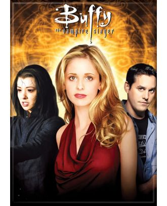 Buffy The Vampire Slayer Dark Willow and Xander Photo Magnet