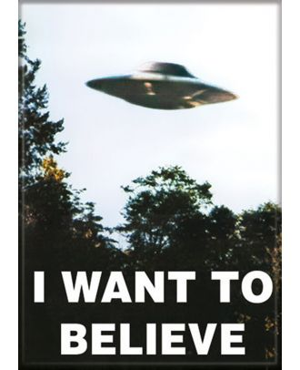X-Files I Want To Believe Photo Magnet