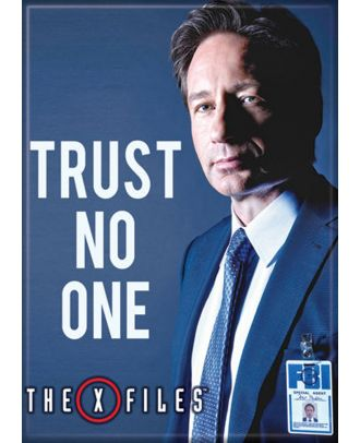 X-Files Mulder Trust No One Photo Magnet