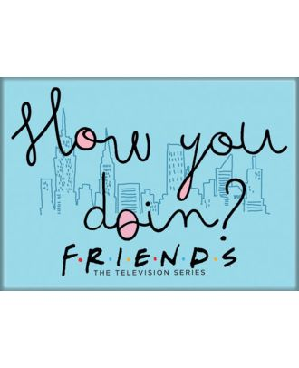 Friends How You Doin 3.5 x 2.5 inch Photo Magnet