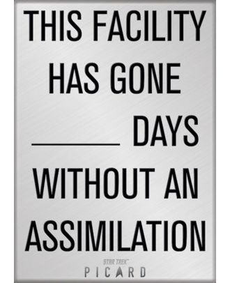 Star Trek Picard This Facility - Assimilation Photo Magnet