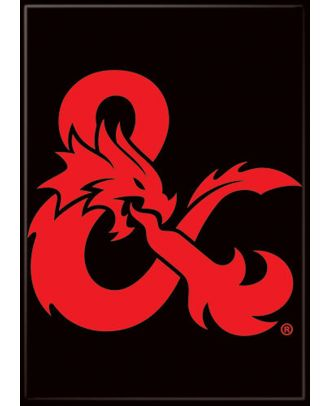 Dungeons and Dragons Dragon Ampersand 3.5 x 2.5 Magnet