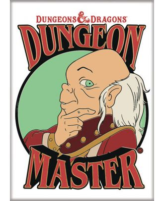 Dungeons and Dragons Dungeon Master 3.5 x 2.5 Magnet
