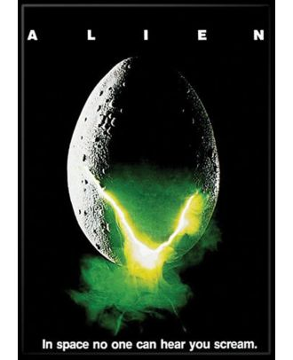 Alien Movie Poster 3.5 x 2.5 Magnet
