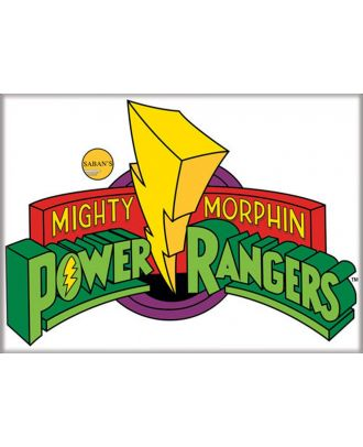 Power Rangers Logo 3.5 x 2.5 Magnet