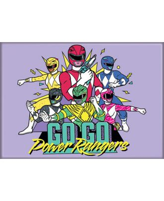 Power Rangers GoGo 3.5 x 2.5 Magnet