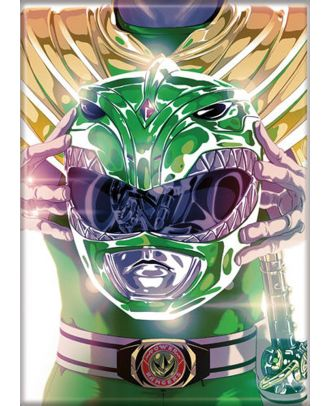 Power Rangers Green Ranger 3.5 x 2.5 Magnet