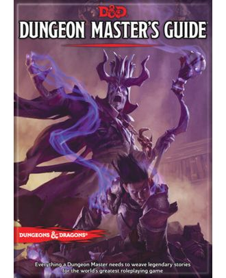 Dungeons and Dragons Dungeon Master's Guide 5th Edition 3.5 x 2.5 Magnet