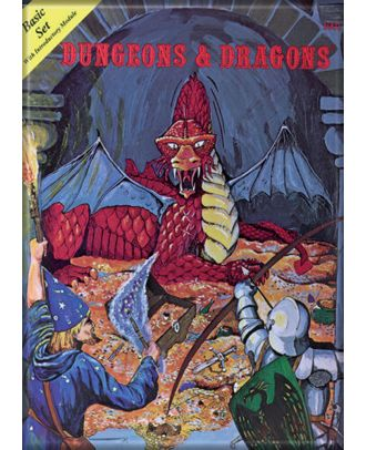 Dungeons and Dragons Basic Set 3.5 x 2.5 Magnet