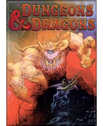 Dungeons and Dragons Motp Cover Art 3.5 x 2.5 Magnet