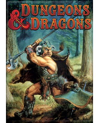 Dungeons and Dragons Monster Manual 2nd Edition 3.5 x 2.5 Magnet