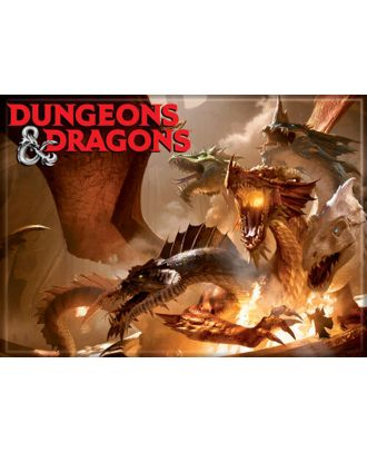 Dungeons and Dragons Rise of Tiamet 3.5 x 2.5 Magnet