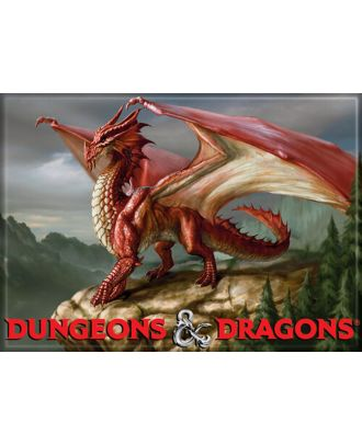 Dungeons and Dragons Dragon 4th Edition 3.5 x 2.5 Magnet