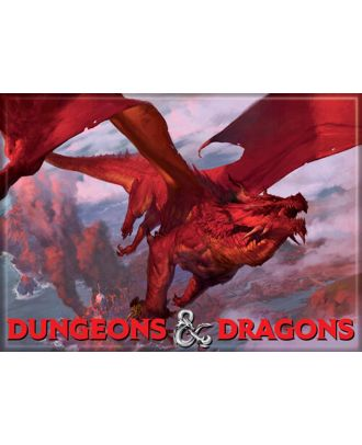 Dungeons and Dragons Red Dragon 3.5 x 2.5 Magnet