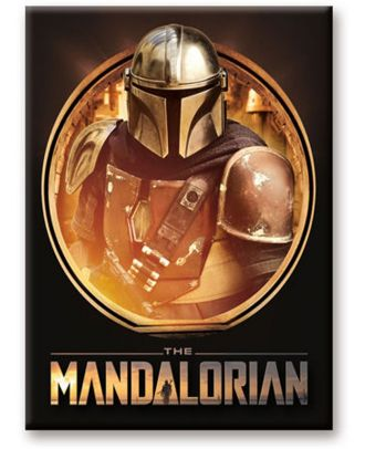 The Mandalorian Circle Magnet
