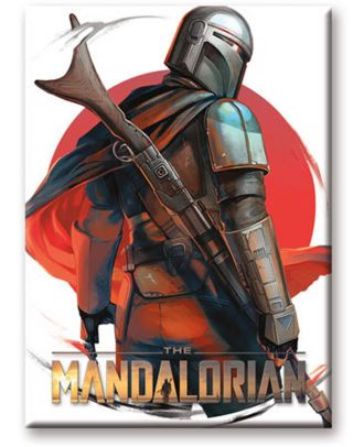 The Mandalorian Look Magnet