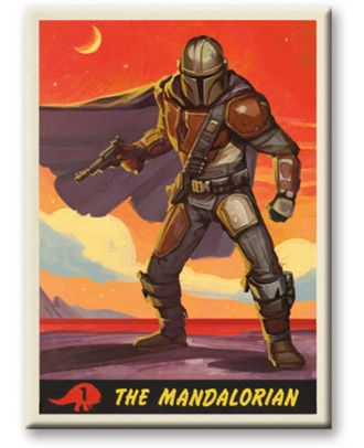 The Mandalorian Card Design Magnet