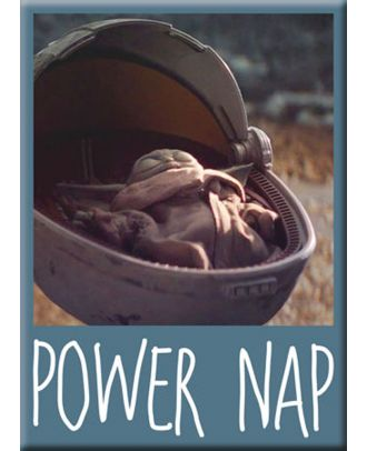 The Mandalorian - The Child Power Nap Magnet