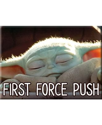 The Mandalorian - The Child First Force Push Magnet
