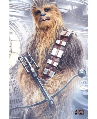 Star Wars - Chewbacca With Bowcaster 24x36 Poster