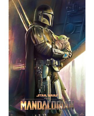 Star Wars - The Mandalorian  Clan of Two 24x36 Poster