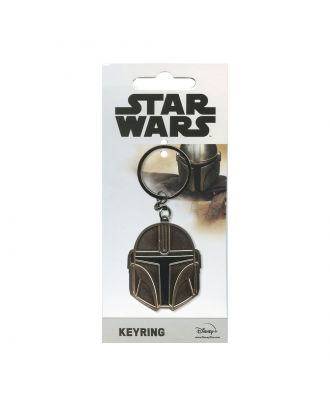 Star Wars The Mandalorian Helmet  Keychain